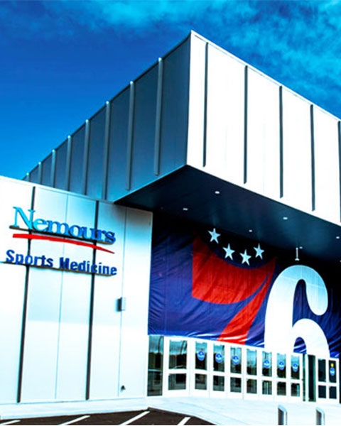 wilmington sports complex 76ers audio visual systems
